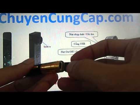 Hướng dẫn sử dụng bút camera quay lén siêu nhỏ