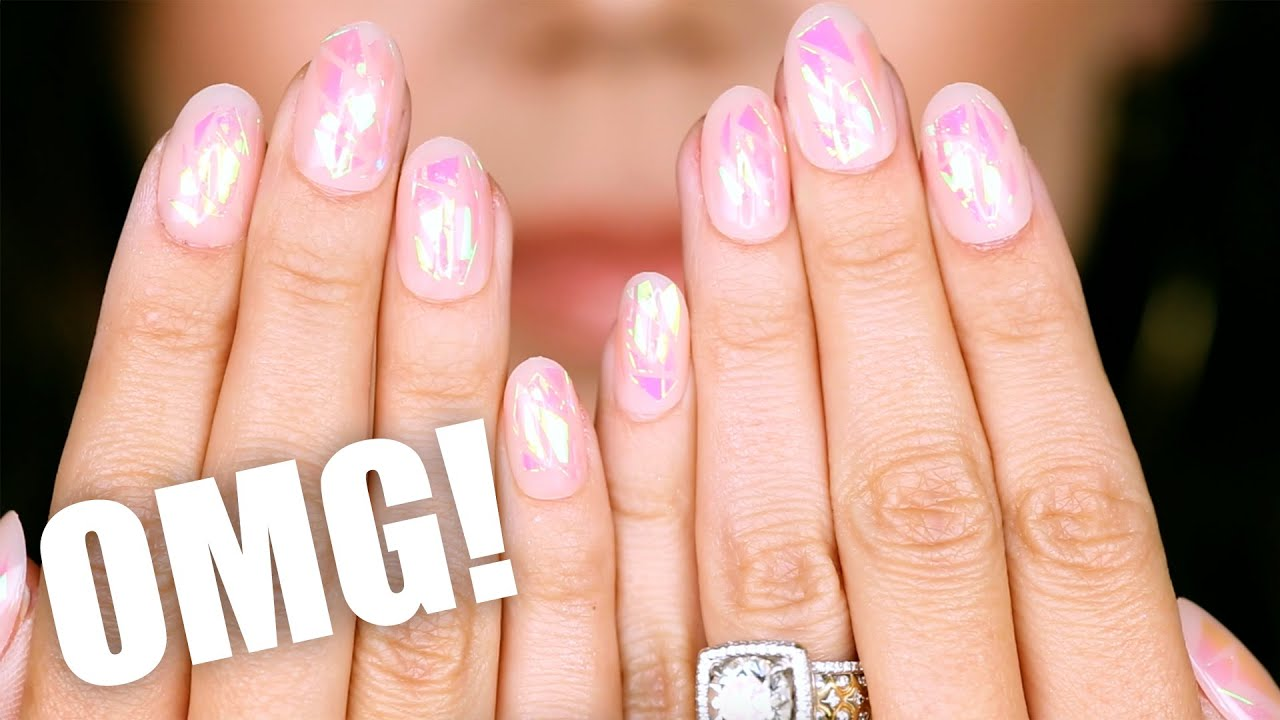 REUSABLE PRESS-ON NAILS ??? ... OMG! - YouTube