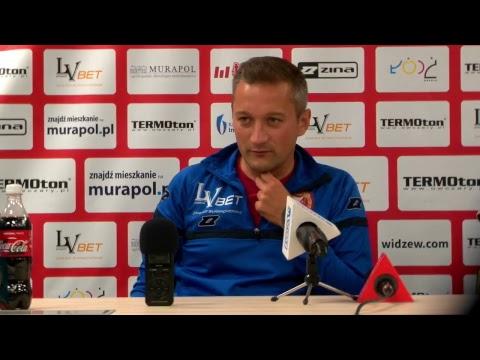 Konferencja prasowa po meczu Widzew Łódź - Polonia Warszawa