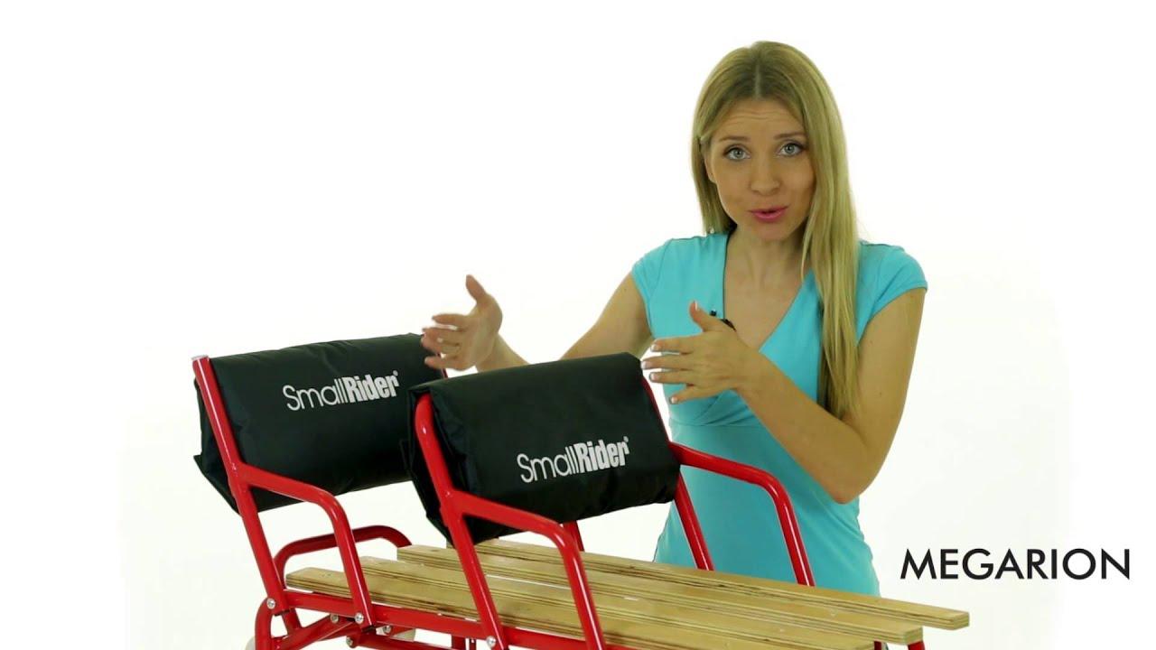 Санимобиль для двойни с колесиками Small Rider Snow Twins
