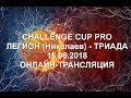 Поделки - CHALLENGE CUP PRO. ЛЕГИОН (Николаев) - ТРИАДА. 15.06.2018