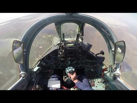 SU-25 Flight exercises