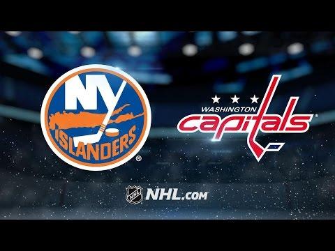 Ovechkin scores late, Capitals defeat Islanders