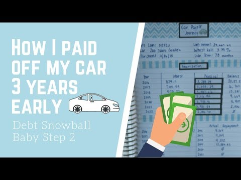 how-i-paid-off-my-car-loan-3-years-early-|-baby-step-2