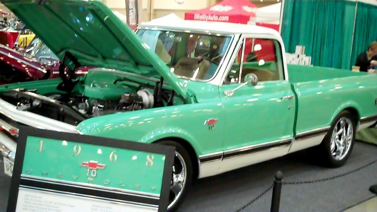 All Chevy 1968 chevy c10 parts : 1968 Chevy Pick Up - YouTube