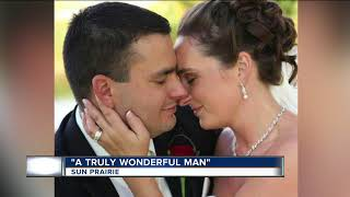 Sun Prairie firefighter's wife calls him best husband, dad