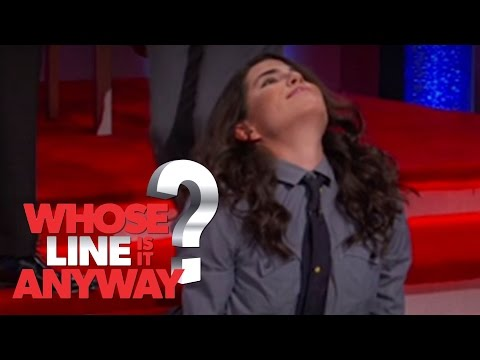Hot Yoga With HTGAWM's Karla Souza - Whose Line Is It Anyway? US