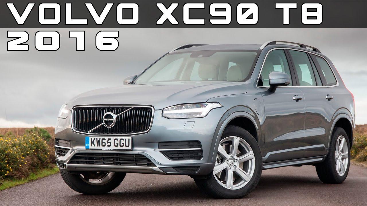 2016 Volvo XC90 T8 PHEV Review Rendered Price Specs