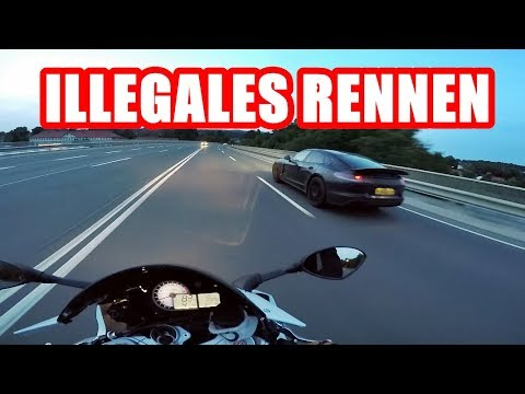 ILLEGALES RENNEN | GAMMELIGER PORSCHE | BMW S1000RR