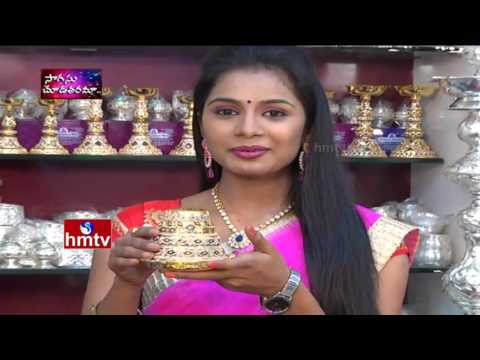 Silver Puja Supplies Articles| Akshaya Jewellery | Sogasu Ch