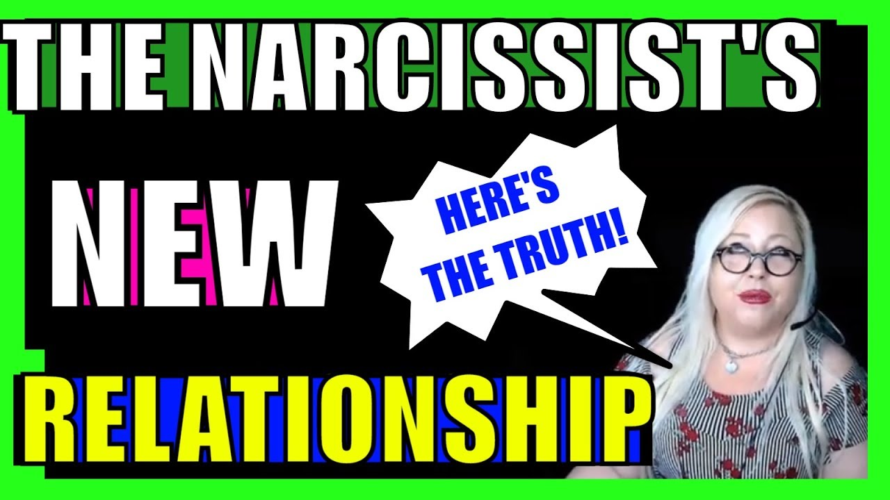 When a narcissist finds someone new