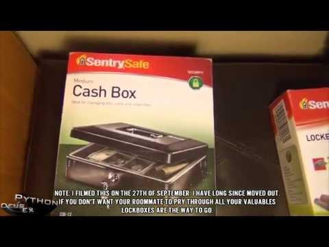 "SentrySafe CB12 ""Medium"" Cash Lockbox - Unboxing and Review"