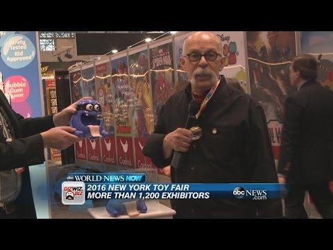 New Creative Toys at the New York Toy Fair   ABC News