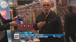 New Creative Toys at the New York Toy Fair | ABC News