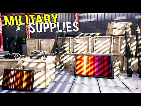 SUPPLYING NEW EQUIPMENT TO THE MILITARY AS THE ULTIMATE GUNSMITH! - Gunsmith Pre-Alpha Gameplay