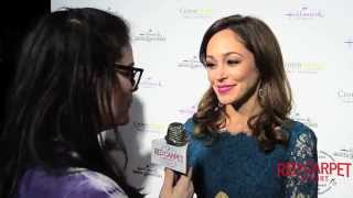Autumn Reeser at the #HallmarkChannel #HallmarkMovie Winter #‎TCA15 Tour