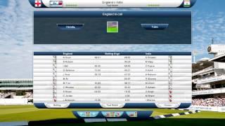 International Cricket Captain 2014 - Greats Test Match, Eng vs Ind