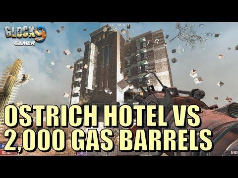 7 Days To Die - Ostrich Hotel VS 2,000 Gas Barrels