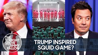 How Trump Helped Inspire Squid Game, Kim Jong-un Loves to Stroke Weapons | The Tonight Show