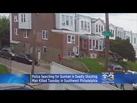 Police Release Surveillance Video In Southwest Philadelphia Deadly Shooting