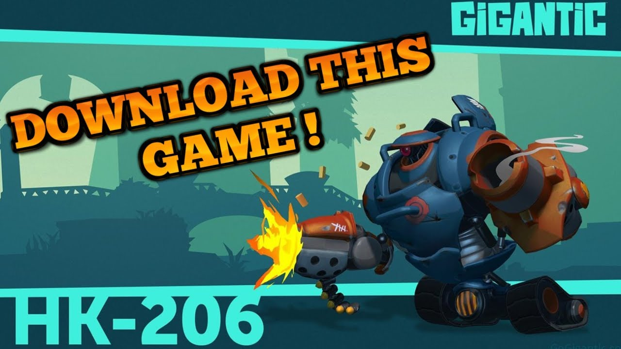 Gigantic : HK-206 Gameplay -