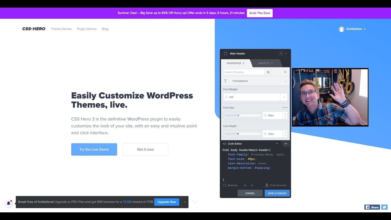A WordPress Plugin that Writes CSS for You 😍😃 image