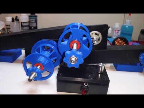 3d Printer Filament Rewinder