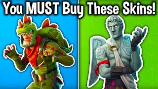 5 LEGENDARY SKINS YOU NEED TO BUY in Fortnite! (Fortnite Battle Royale)