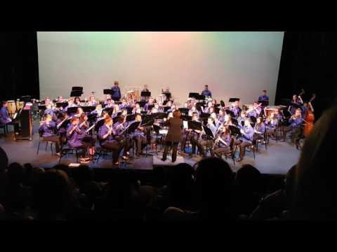 GW Graham Senior Concert Band - Royal Canadian Sketches II. Autumn Light, III. Vista