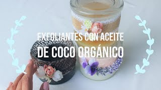 Exfoliantes Con Aceite De Coco Orgánico Extra Virgen