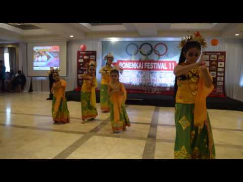 Puspanjali Dance , Sanggar Bali Rara & Millenia  - Festival Bonenkai 11 - Hotel Salak - Bogor