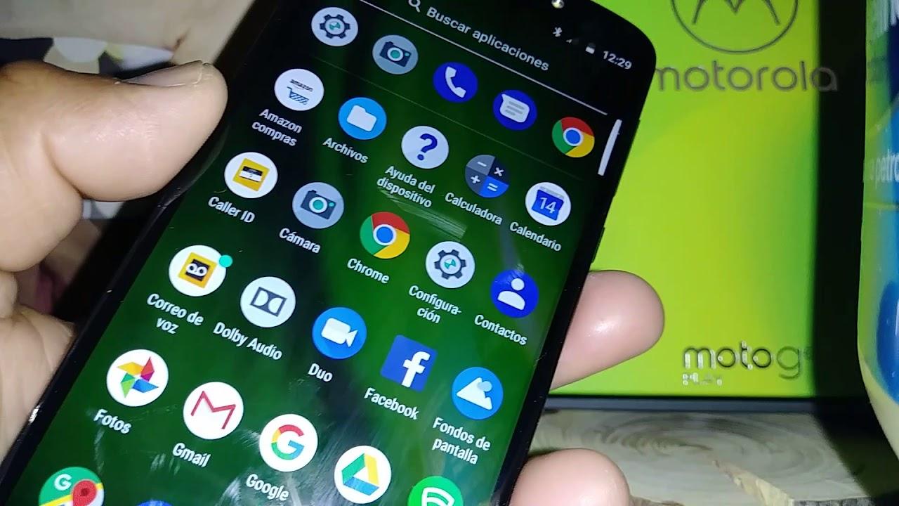 Apagar Voz Talkback A Moto G6 Play Boost Mobile Y Verizon Wireless
