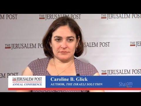 Caroline B. Glick at the Jerusalem Post Conference