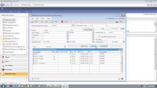 Microsoft Dynamics GP 2013 - Plan to Produce - Manufacturing Order Processing