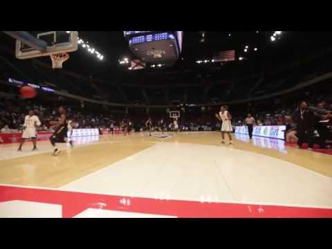 Alabama Crimson Tide Men`s Basketball Signee Herb Jones Monster Slam vs Monroe County (4A Title Game
