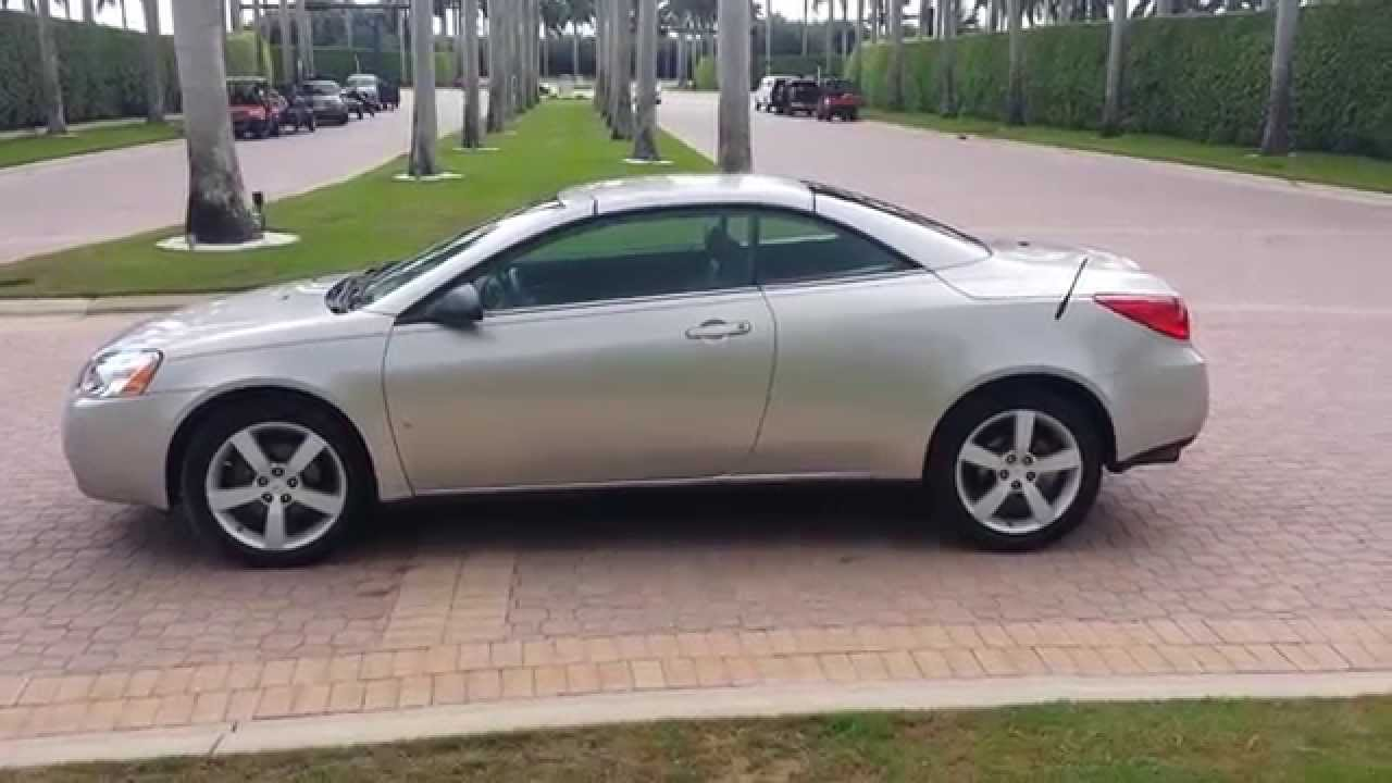 2007 PONTIAC G6 GT HARDTOP CONVERTIBLE 44K LOW MILES! ONE ...