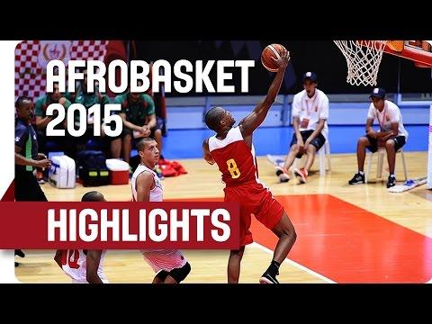 Morocco v Mozambique - Game Highlights - Group B - AfroBasket 2015