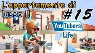 YOUTUBERS LIFE #15 - MI TRASFERISCO IN UN APPARTAMENTO DI LUSSO!!