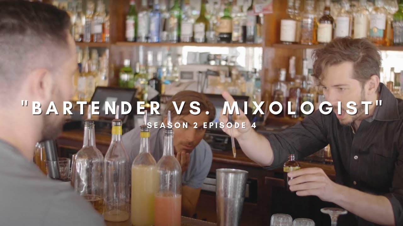 BARTENDER vs. MIXOLOGIST - Who makes better drinks?