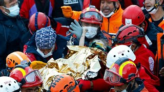 video: Child rescued from rubble in Turkey, 65 hours after earthquake