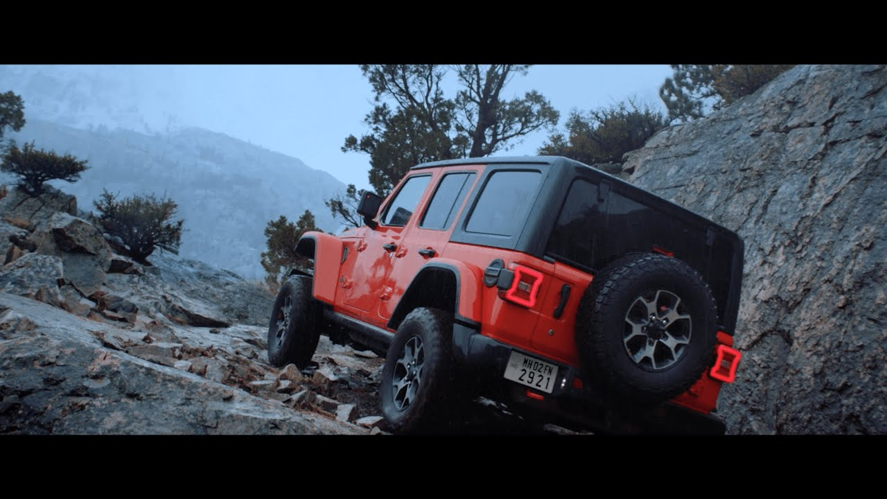 Follow your wanderlust with the all-new Wrangler