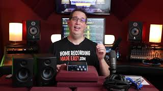 Recording in Studio One Made Easy!
