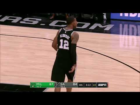 Milwaukee Bucks vs San Antonio Spurs | November 10, 2017 | NBA 2017-18 Season