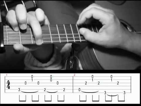 nino-ferrer-le-sud-fingerstyle-guitare-avec-tablature-arno-mermet