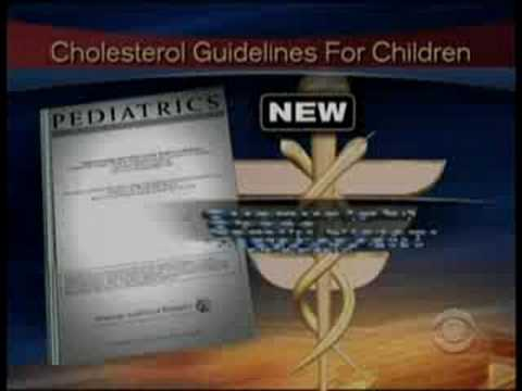 Cholesterol Problems In Kids