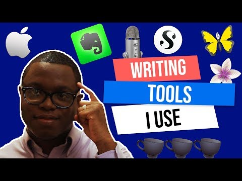 What Writing Tools I Use (2018)