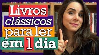 14 LIVROS CLÁSSICOS PARA LER EM 1 DIA