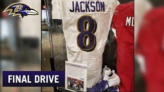 Lamar Jackson's Jersey Sent to Hall of Fame | Ravens Final Drive