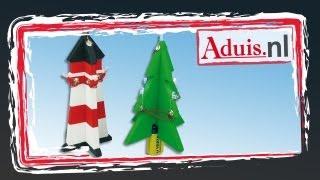 LED kerstboom - vuurtoren
