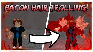 BACON HAIR TROLLING!!! | RK-ing with TakiK1! | Ro-Ghoul | Roblox